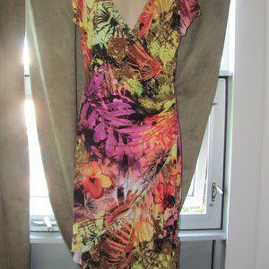 Joseph Ribkoff Dress Floral Multi Size 10